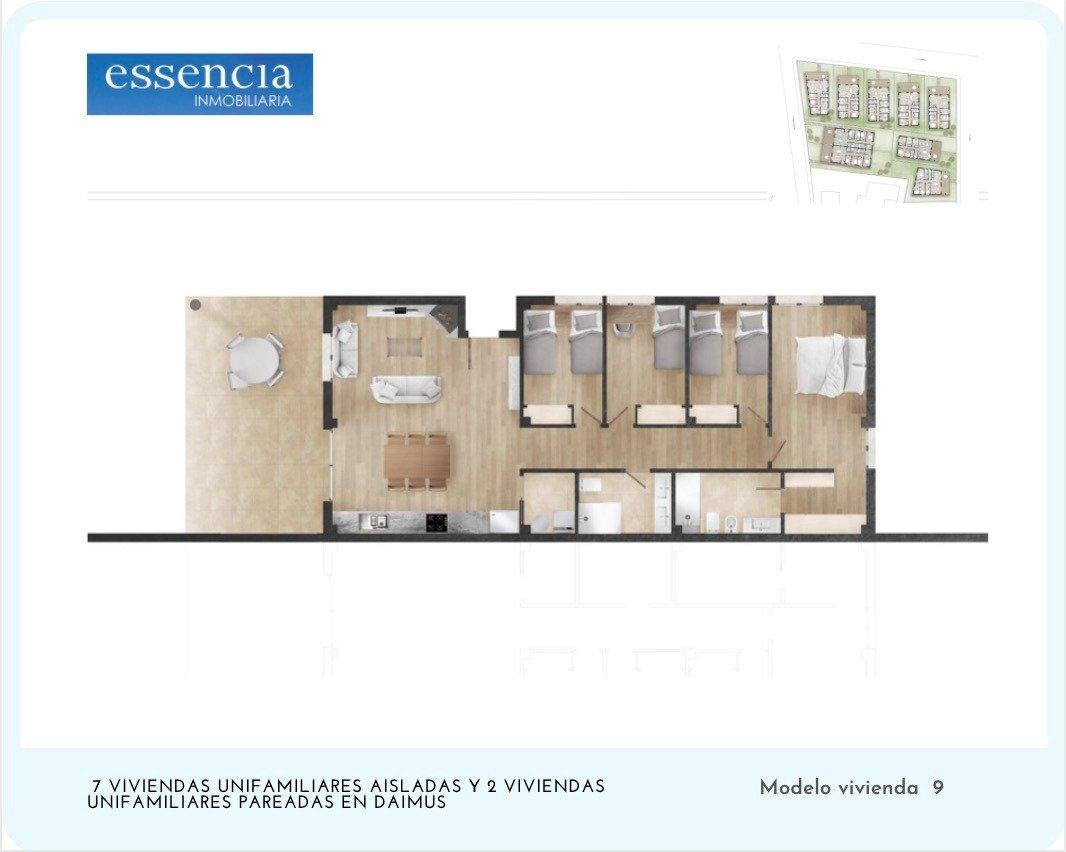 7 ya reservados ! ahora puedes vivir en una casa sin escaleras, con parcela, opción a pisc - imagenInmueble9