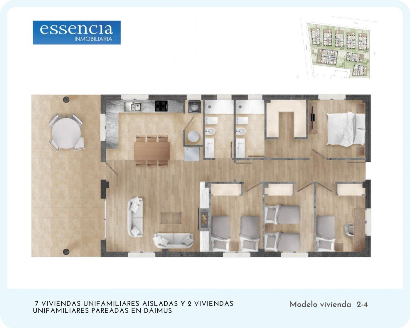 7 ya reservados ! ahora puedes vivir en una casa sin escaleras, con parcela, opción a pisc - imagenInmueble8