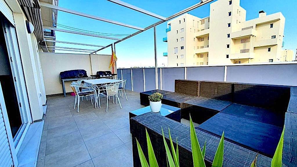 Fabuloso apartamento con 2 terrazas a 200 m la playa de terranova en oliva, piscina, garaj - imagenInmueble0