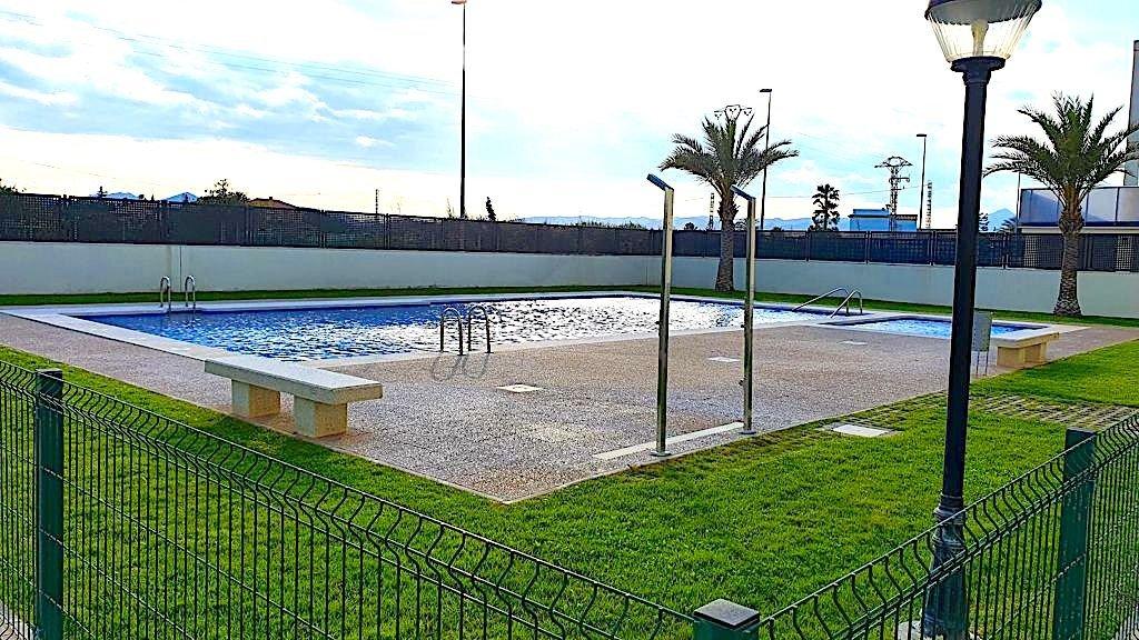 Fabuloso apartamento con 2 terrazas a 200 m la playa de terranova en oliva, piscina, garaj - imagenInmueble11