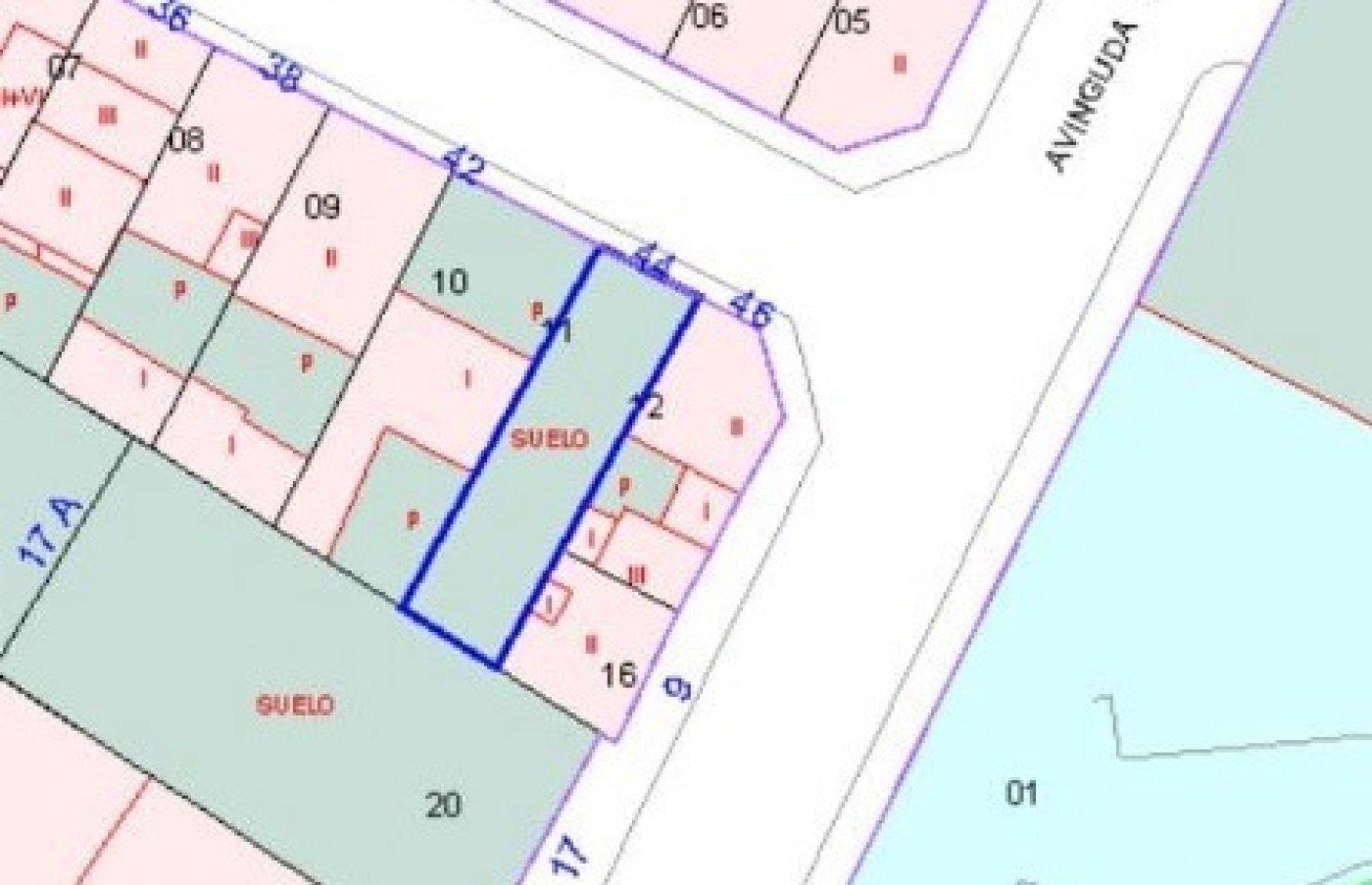 Urbano/solar/parcela en venta en c/ cervantes con edificabilidad para 10 viviendas, gandia - imagenInmueble1