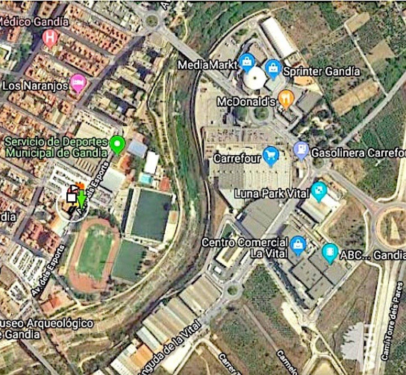 Urbano/solar/parcela en venta en c/ cervantes con edificabilidad para 10 viviendas, gandia - imagenInmueble4