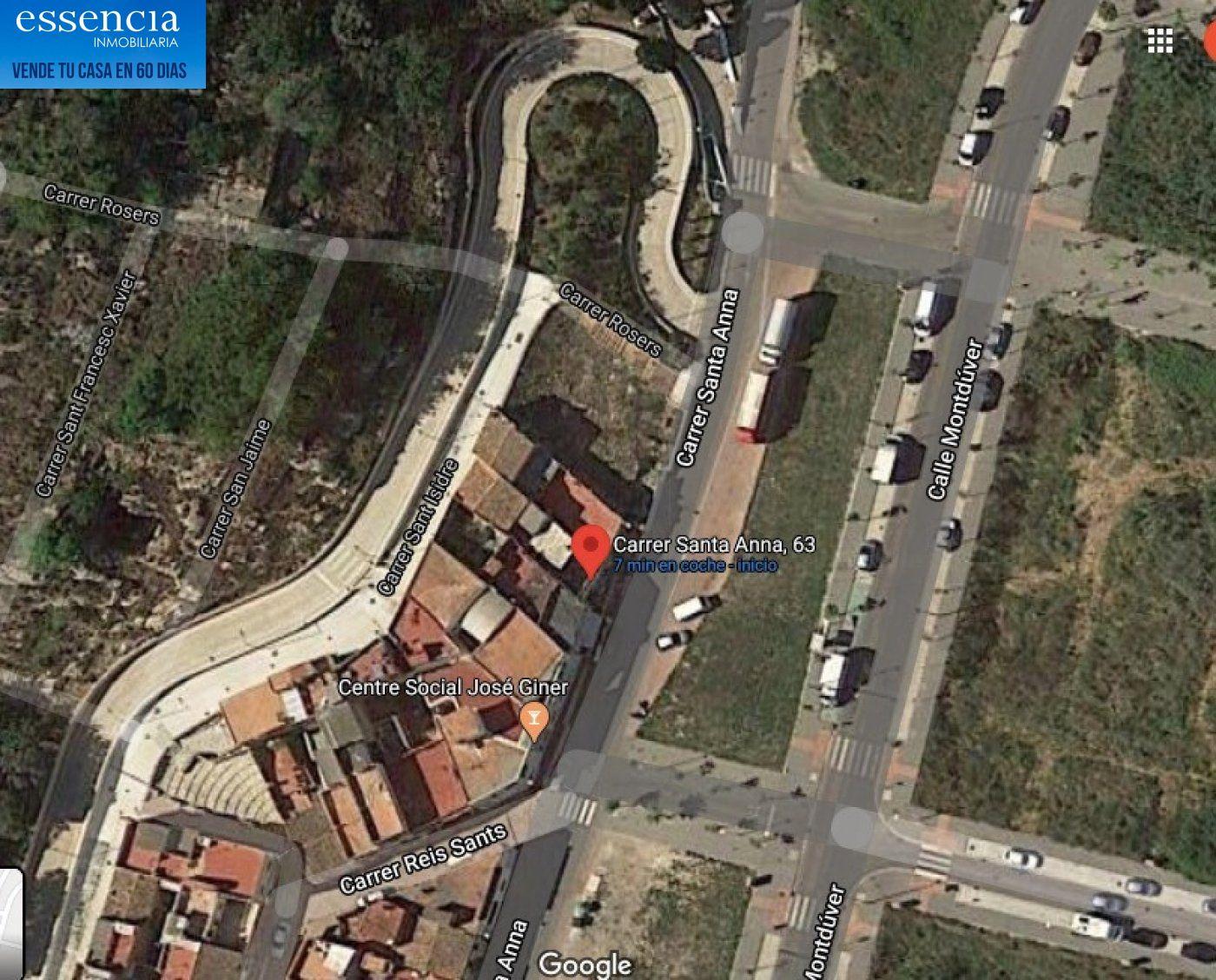 Casa en barrio de santa anna.  vistas despejadas a gandia con zonas verdes y jardines, par - imagenInmueble2