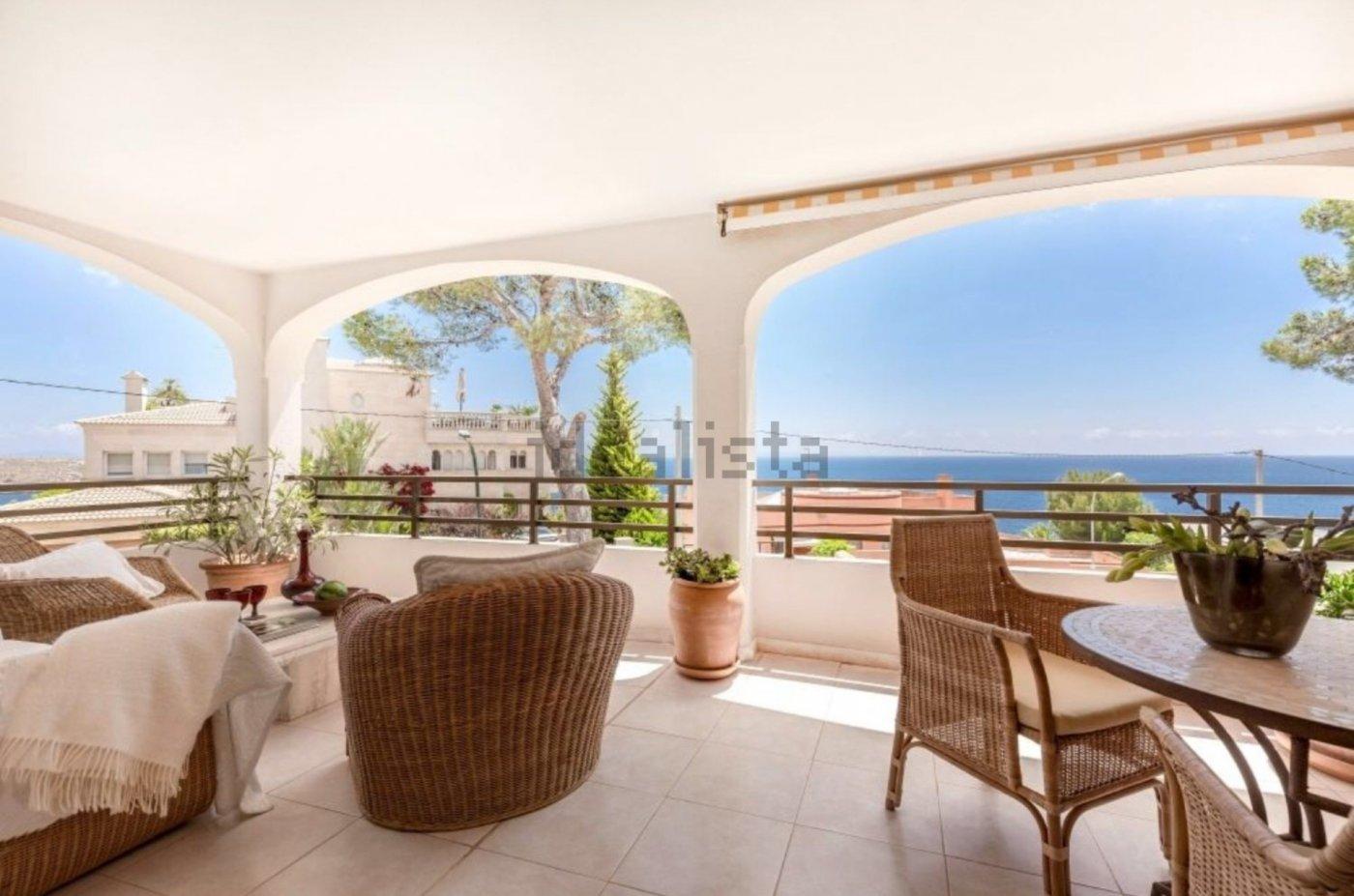 Precioso apartamento en cala vinyes con terraza y espectaculares vistas al mar