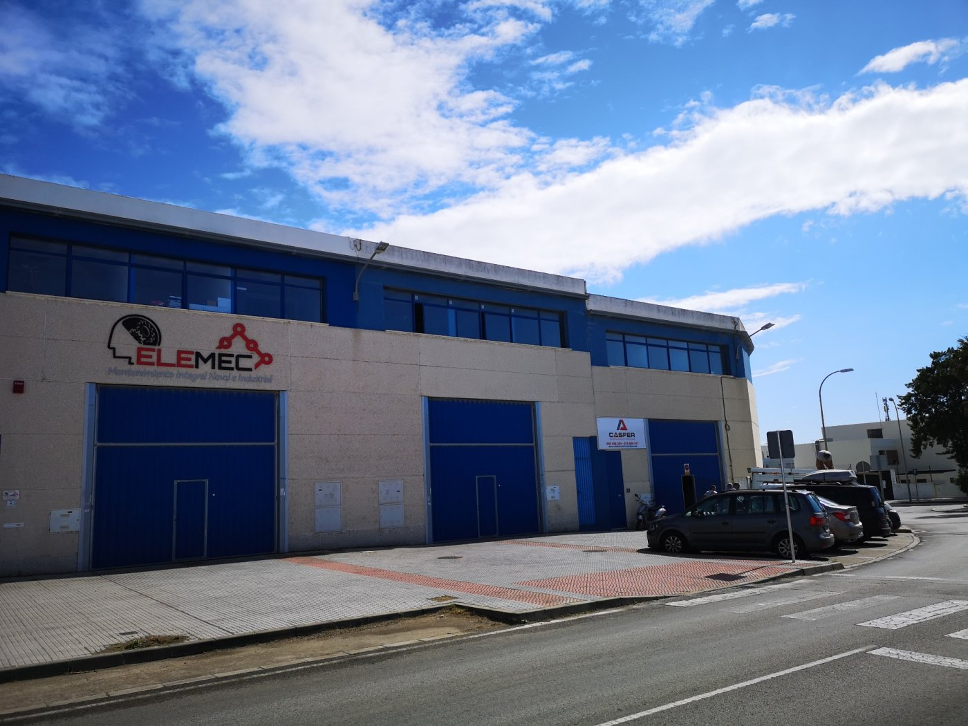 Nave industrial en alquiler en San Fernando