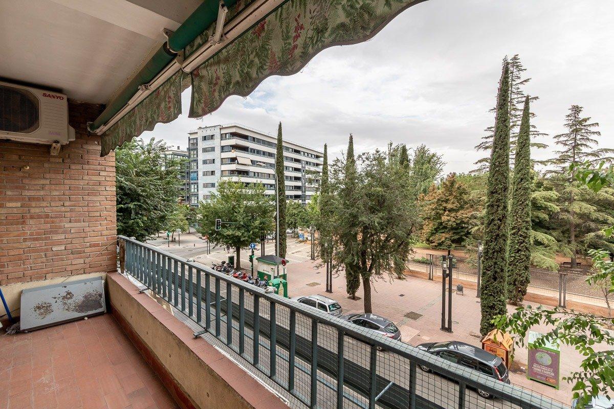 PISAZO EN PARQUE GARCÍA LORCA, Granada