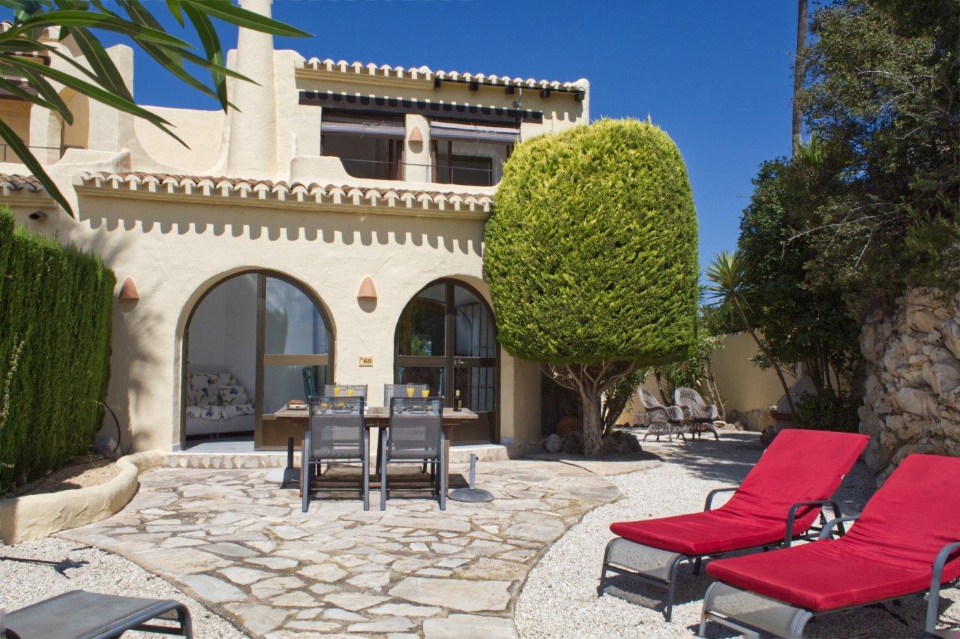 bungalow en moraira · benimeit 240000€
