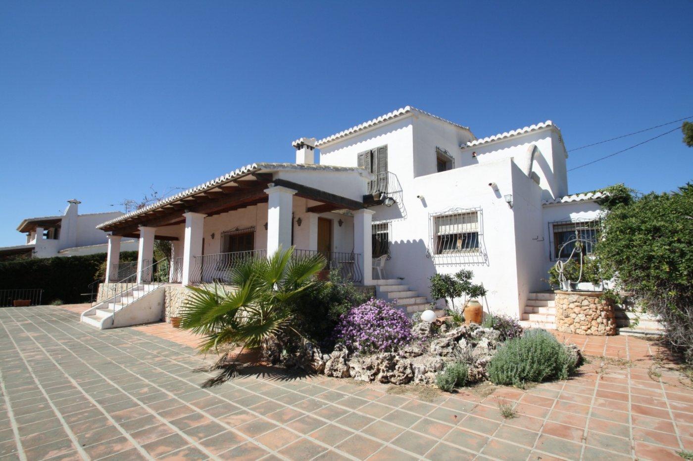 villa en moraira · andrago 1800000€