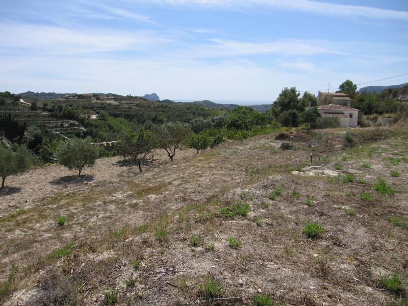 Plot · Benissa · Pueblo 116.600€
