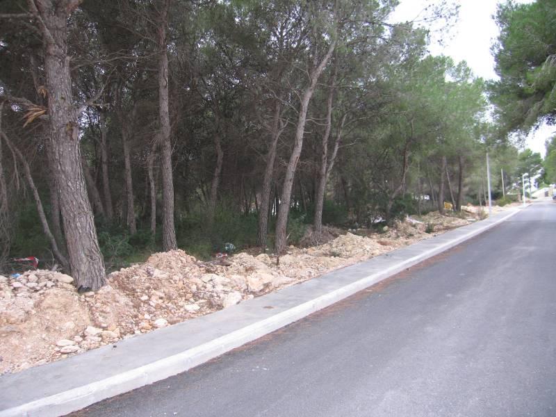 terrain en moraira · el-estret 259000€