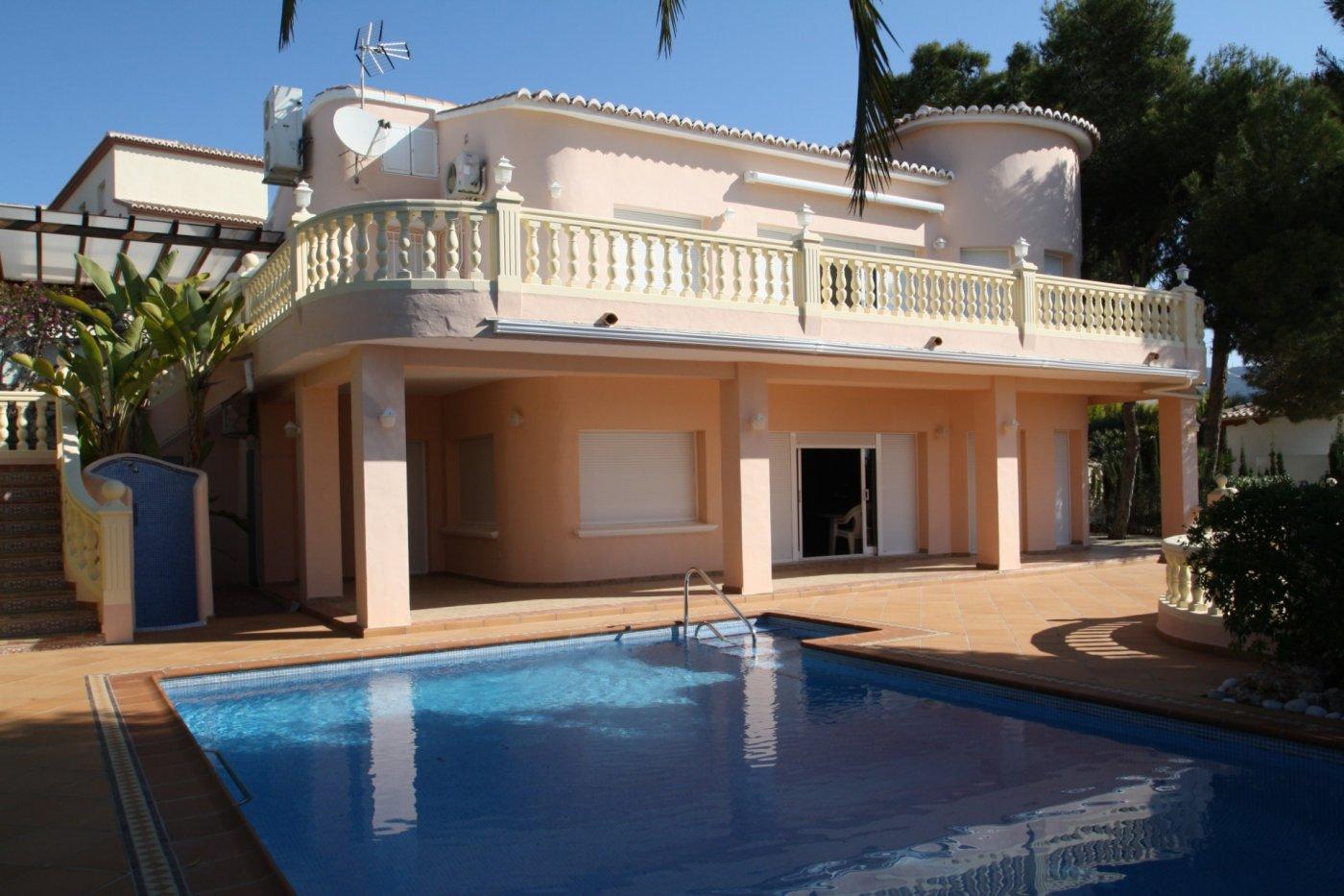 villa en moraira · el-bosque 600000€