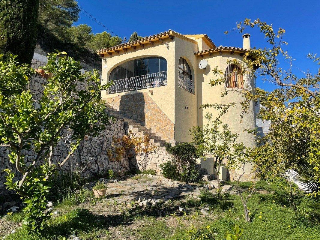 villa en benissa-costa · montemar 240000€