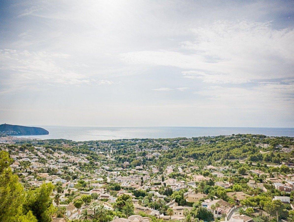 terrain en moraira · benimeit 385000€