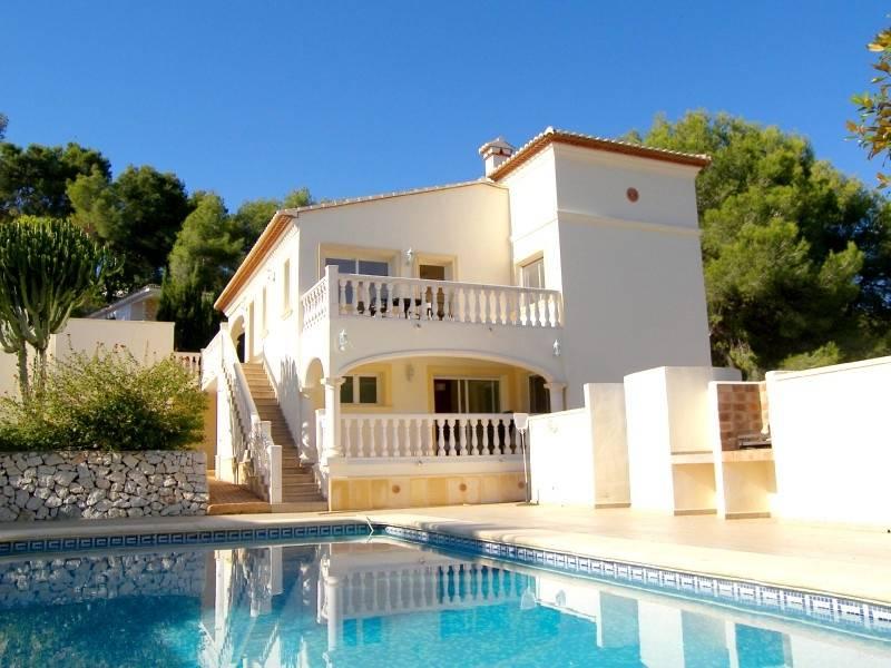 villa en moraira · portet 485000€
