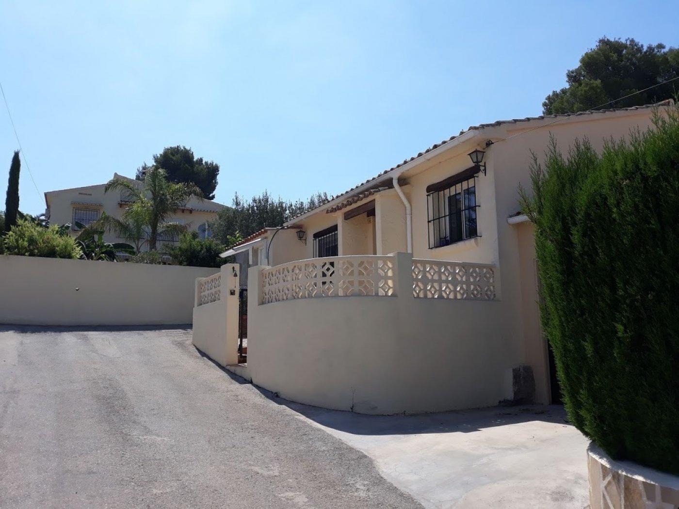 bungalow en moraira · costera-del-mar 220000€