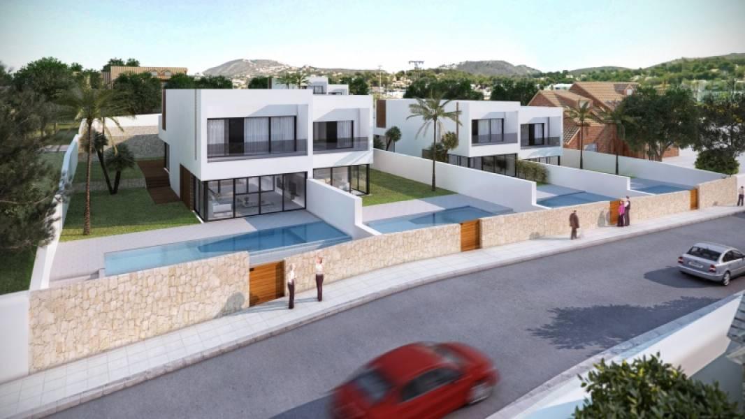 villa en moraira · playetes 695000€