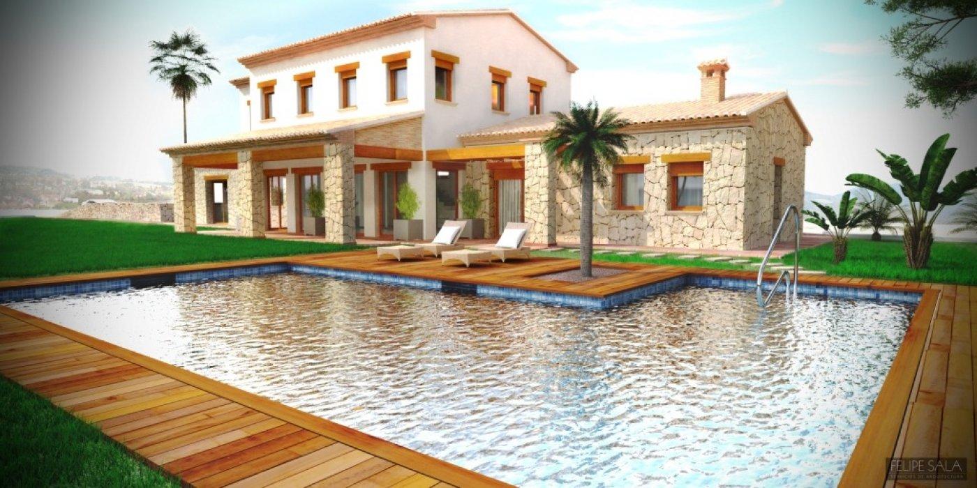 villa en benissa · pedramala 900000€