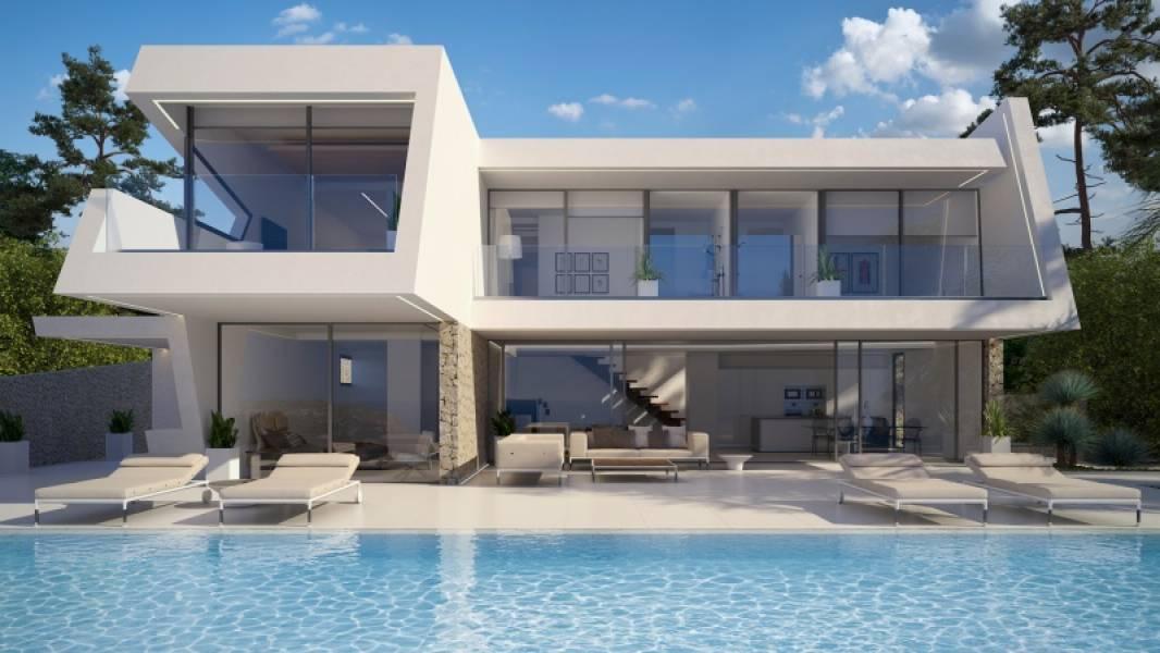 villa en moraira · benimeit 1550000€