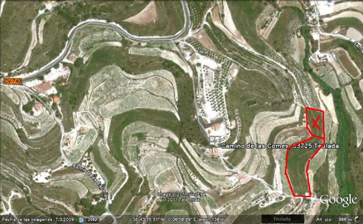 Terrain · Teulada · COMES 210.000€