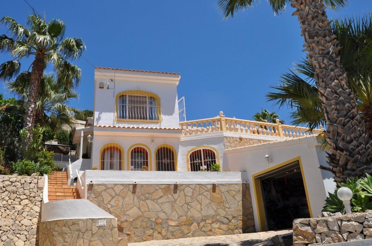villa en moraira · paichi 395000€