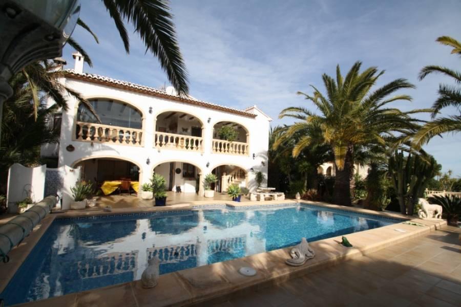villa en benitachell · cumbre-del-sol 1180000€