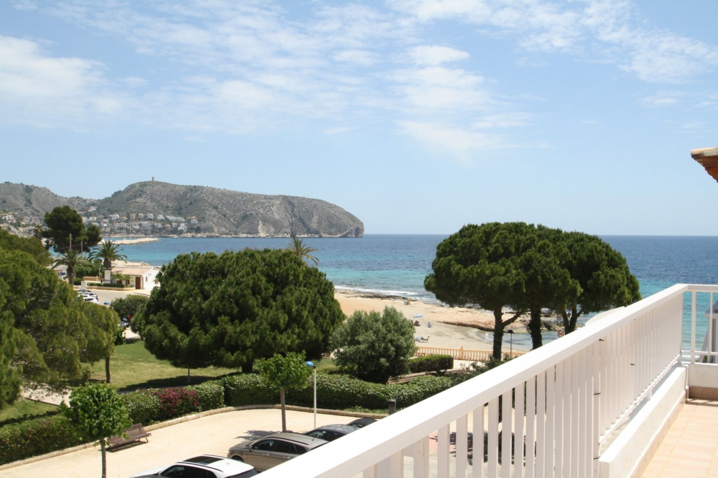 appartement en moraira · playetes 400000€
