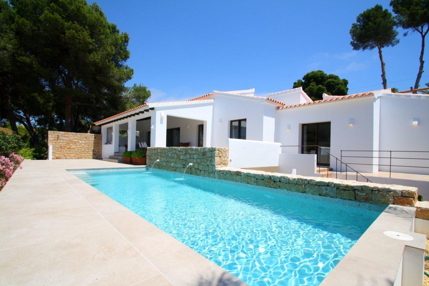 villa en moraira · pla-del-mar 1085000€