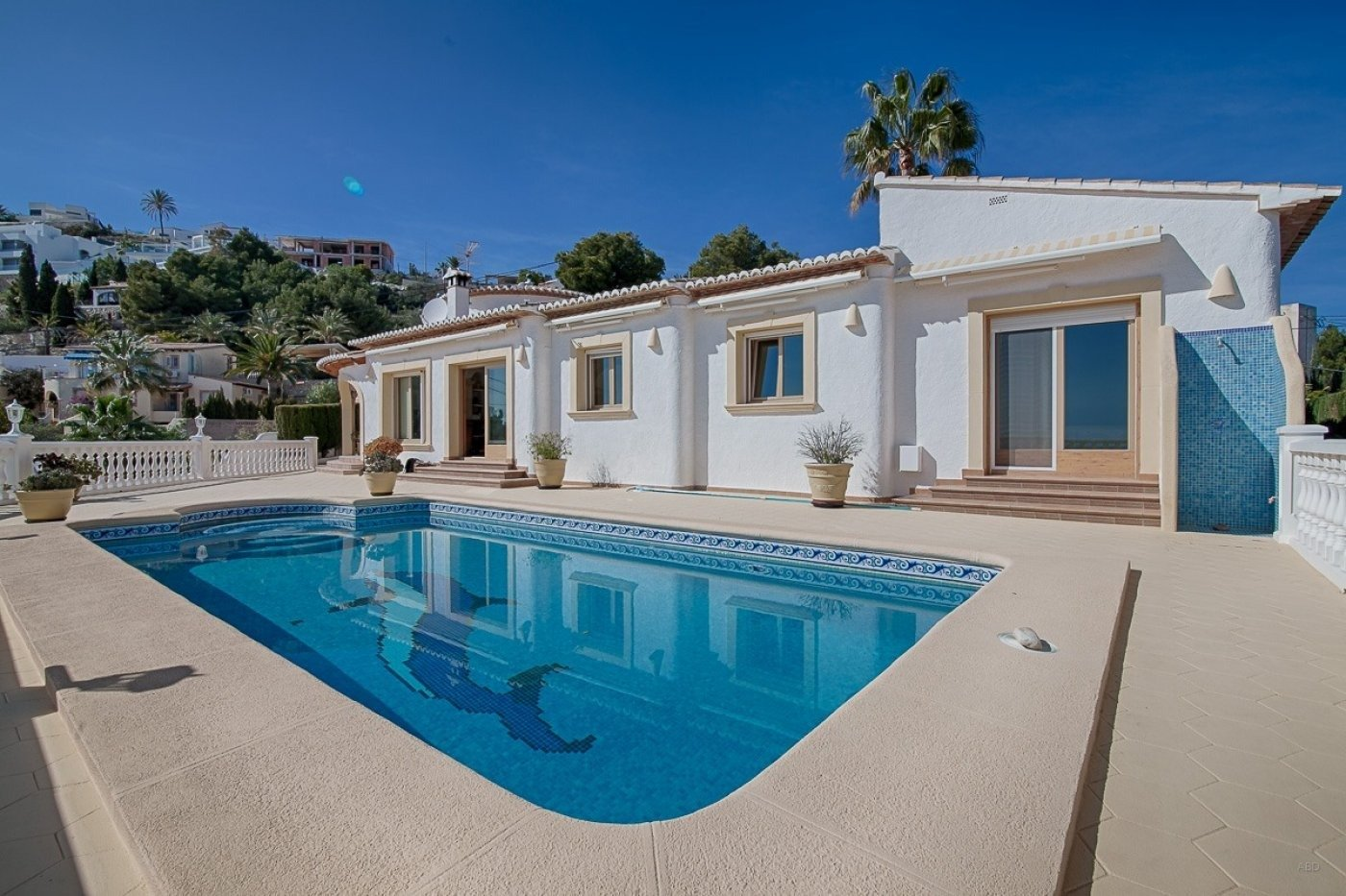 villa en moraira · benimeit 1080000€