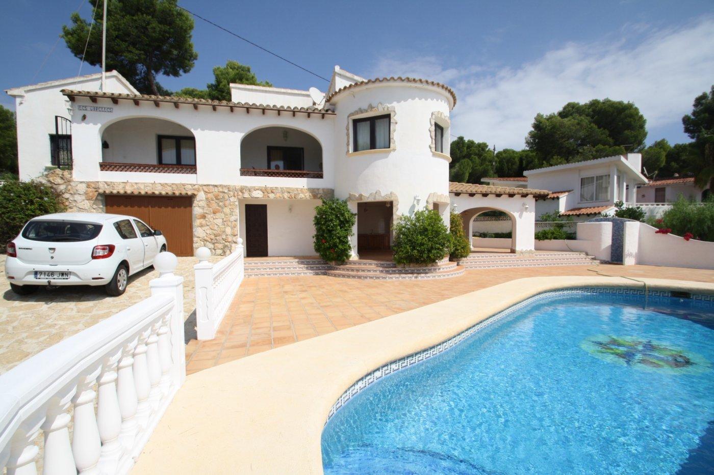 villa en benissa · benissa-costa 690000€