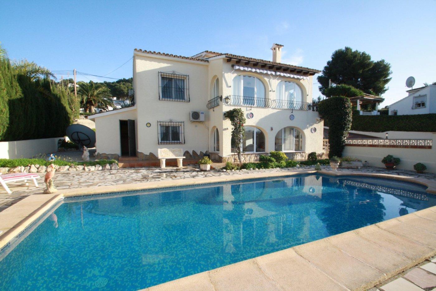 villa en moraira · villotel 325000€