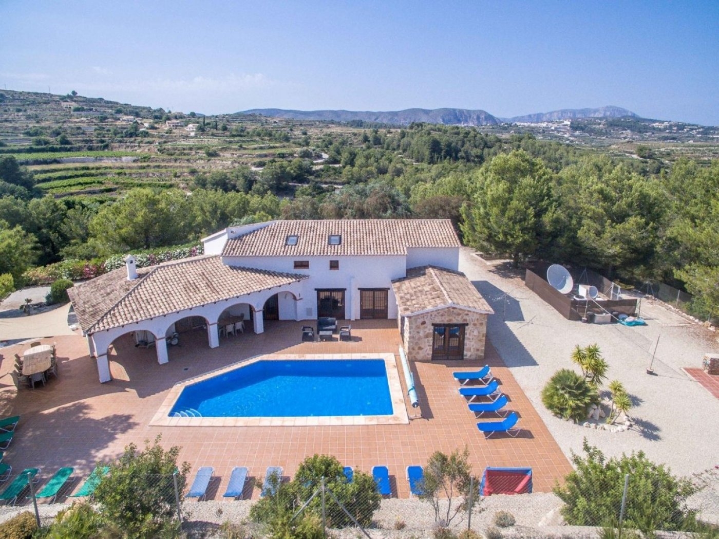 country-estate en moraira · benimeit 895000€