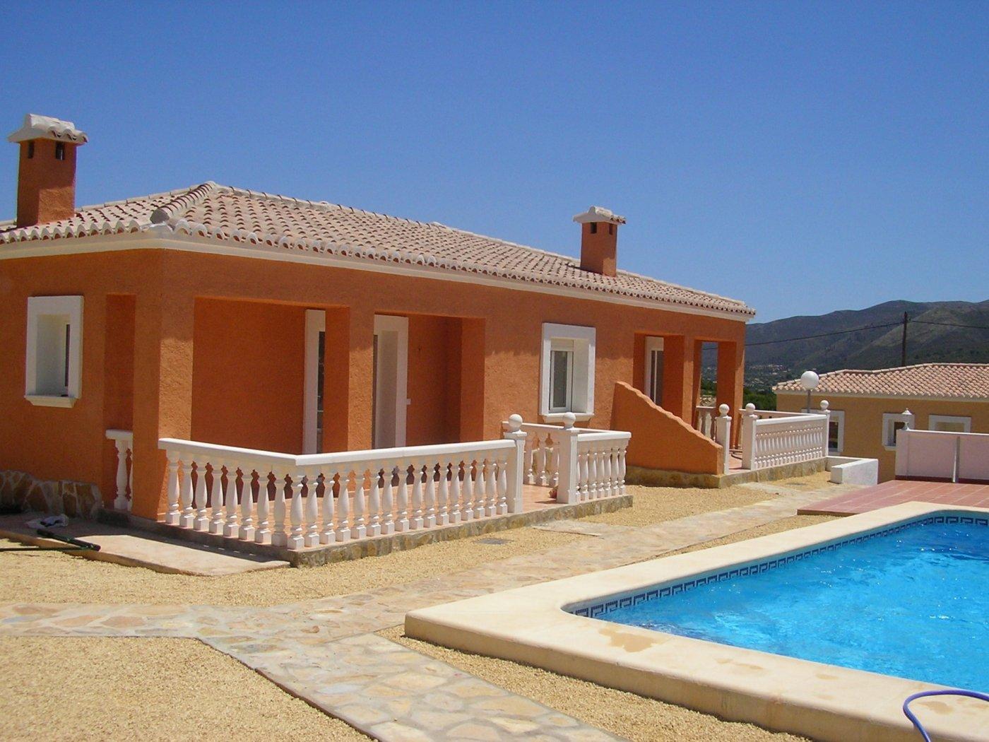 villa en alcalali · urbanizacion 129000€