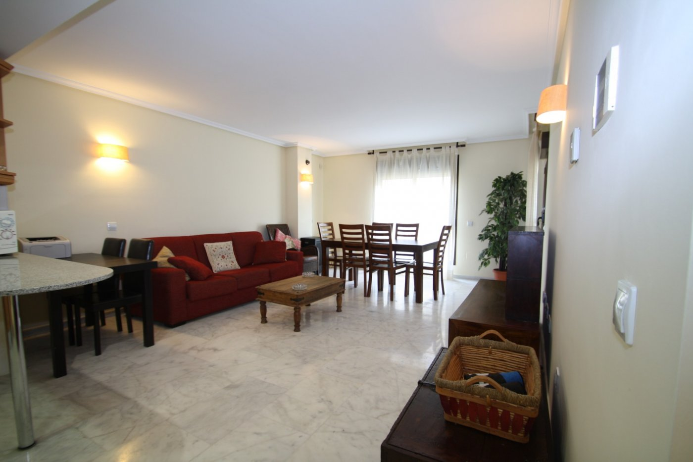 apartamento en moraira · centro 750€