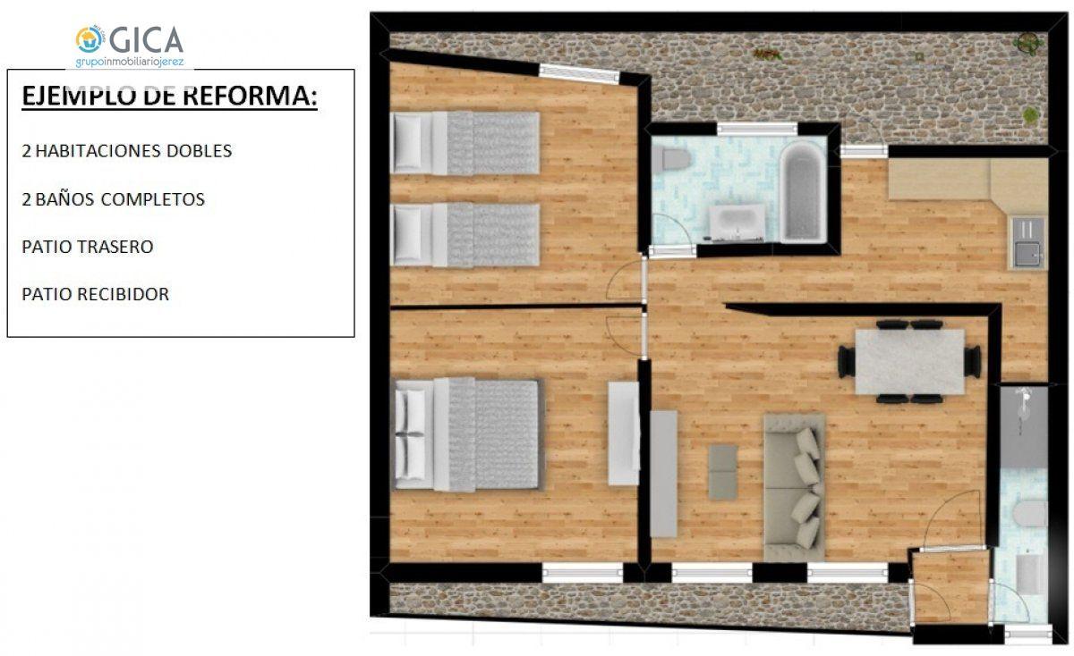 casa en jerez-de-la-frontera · picaduena 26500€