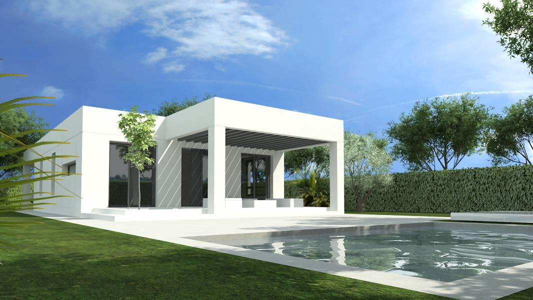 Chalet independiente (Proyecto Basico) con piscina privada en Urb. Torre en Conill