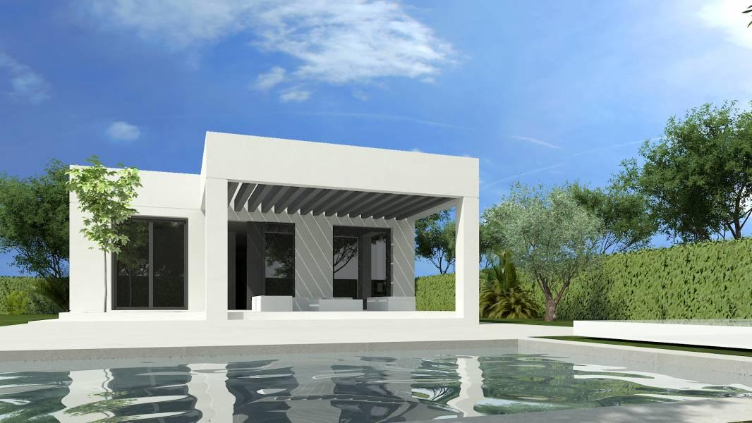 Chalet independiente (Proyecto Basico) con piscina privada en Urb. Torre en Conill 2