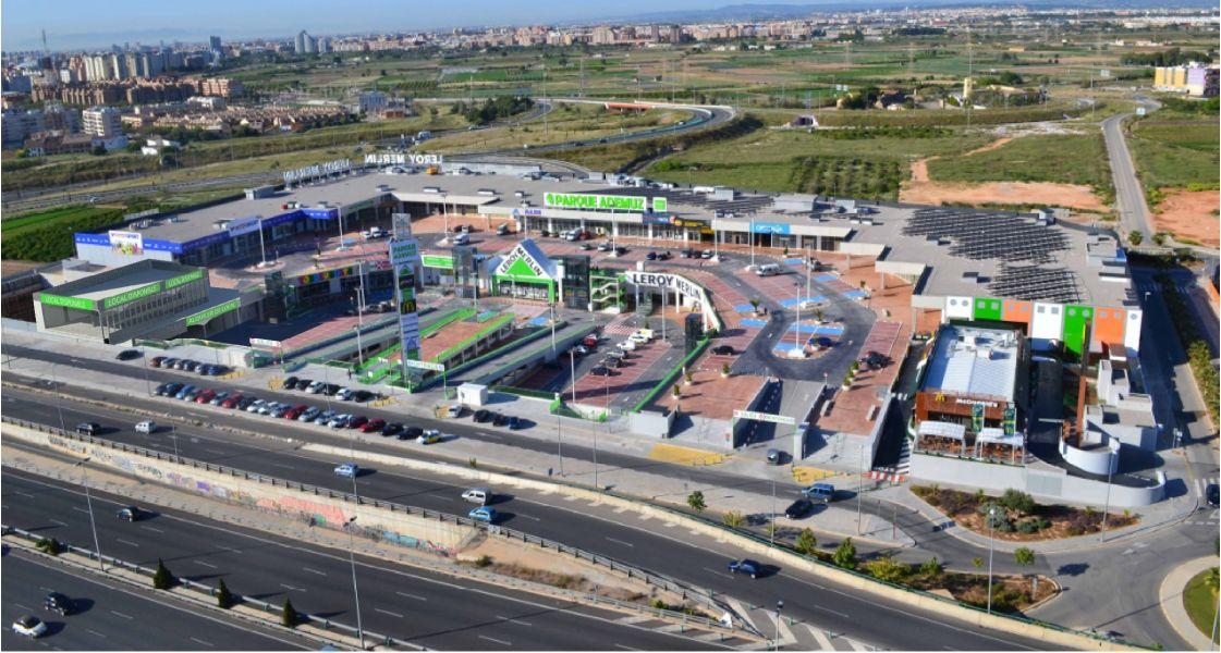 Nuevo Local en construcción  en el Centro Comercial Parque Ademuz 2