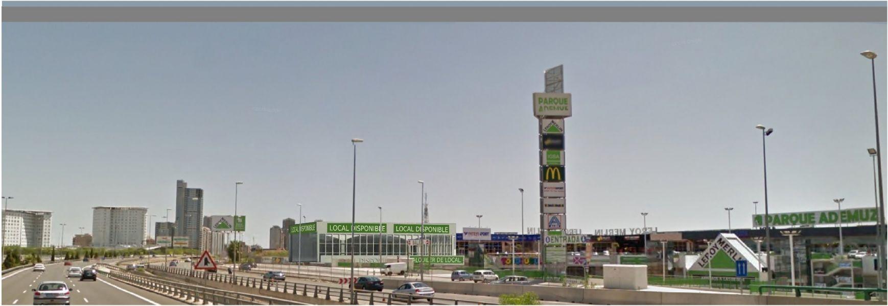 Nuevo Local en construcción  en el Centro Comercial Parque Ademuz 3