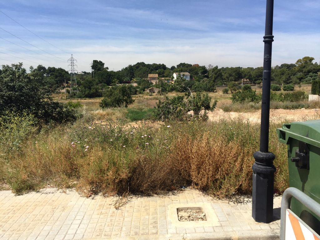 Parcelas en venta ubicada en Urbanización de Godella