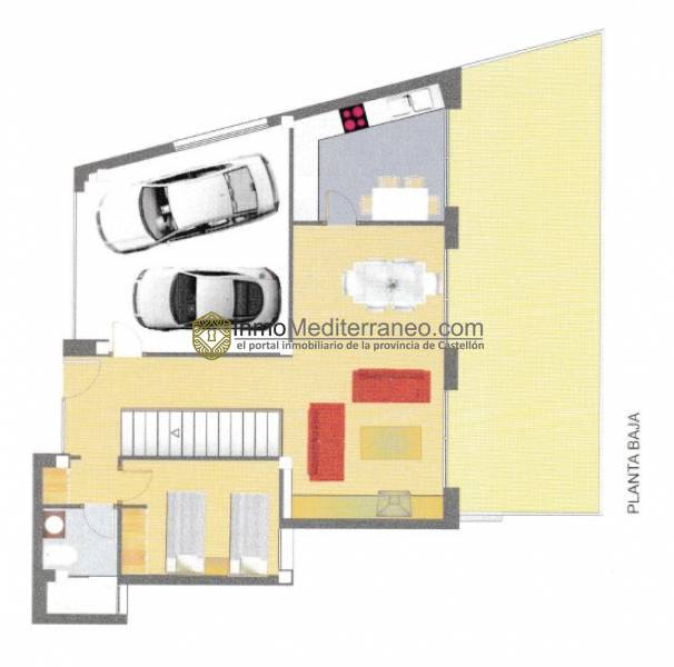 Villa para entrar a vivir en el Balcó de Oropesa
