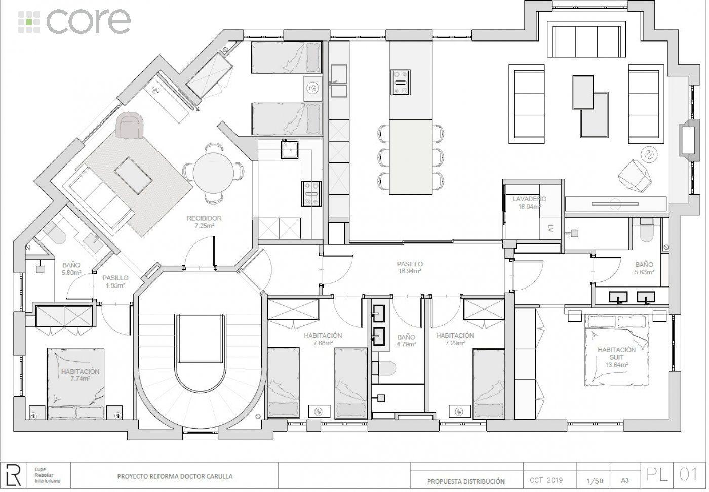 Magnifica vivienda en proceso de reforma en Tres Torres