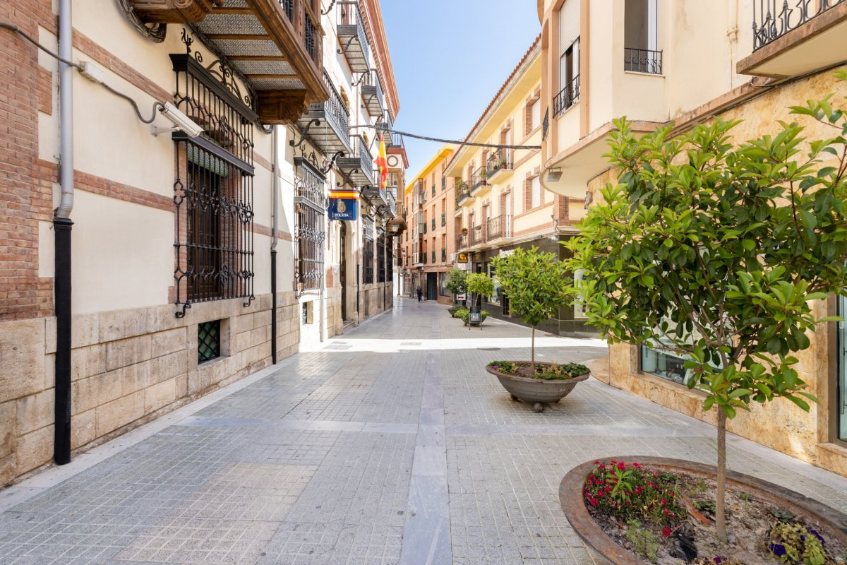 Edificio completo con 4 plantas y 2 locales comerciales con sótano – Baza