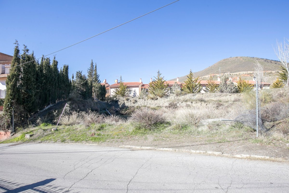 Solar urbano con proyecto de 4 viviendas unifamiliares en CENES DE LA VEGA, Granada