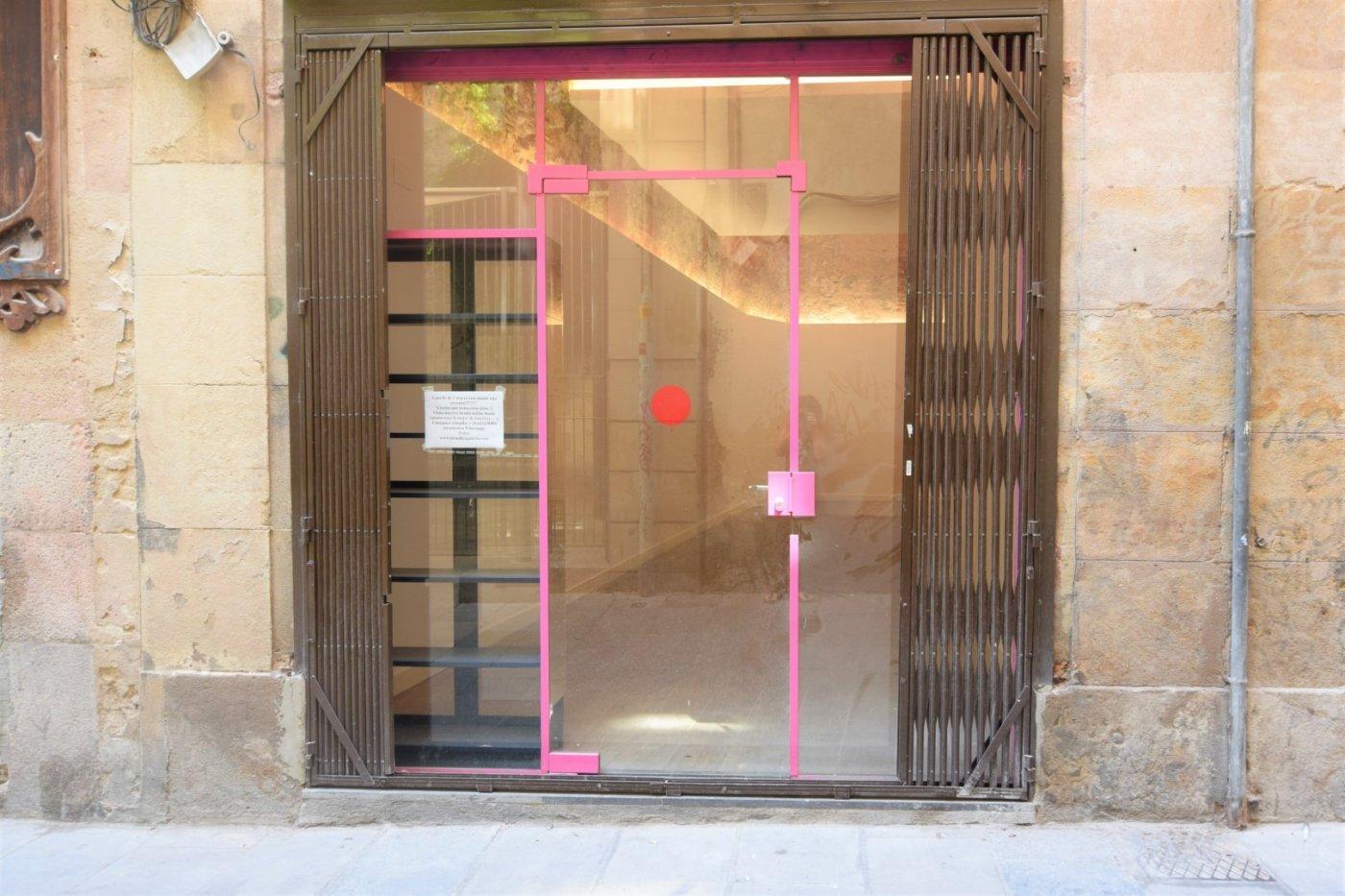 local-comercial en barcelona · el-gotic 2200€