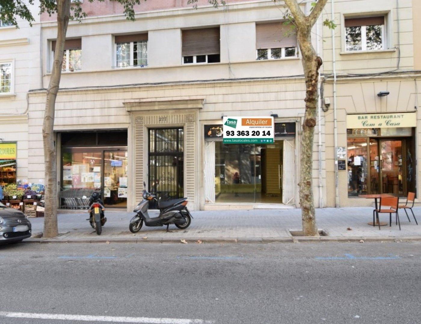 local-comercial en barcelona · sagrada-familia 1400€