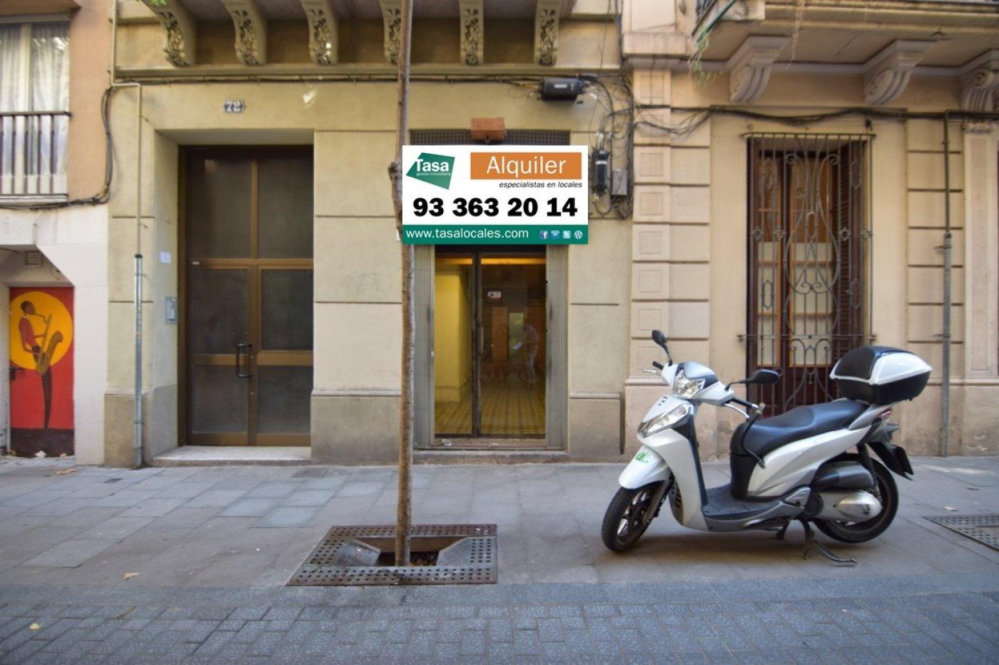 local-comercial en barcelona · vila-de-gracia 600€