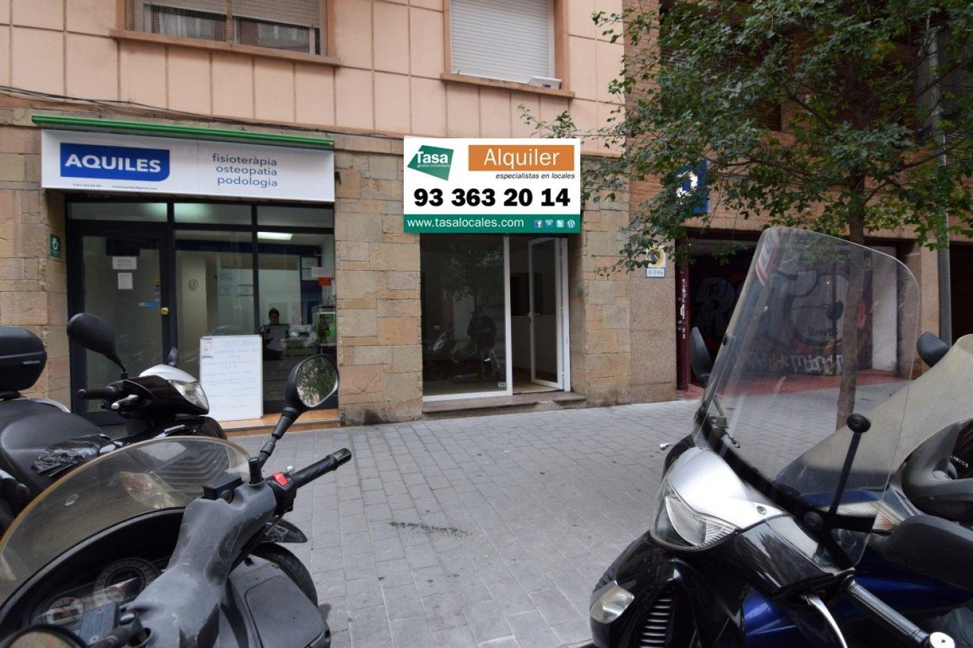 local-comercial en barcelona · camp-d-en-grassot-i-gracia-nova 450€