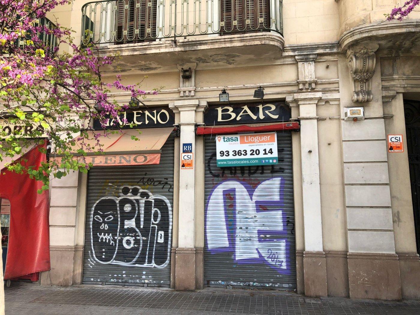 local-comercial en barcelona · lantiga-esquerra-de-leixample 2000€