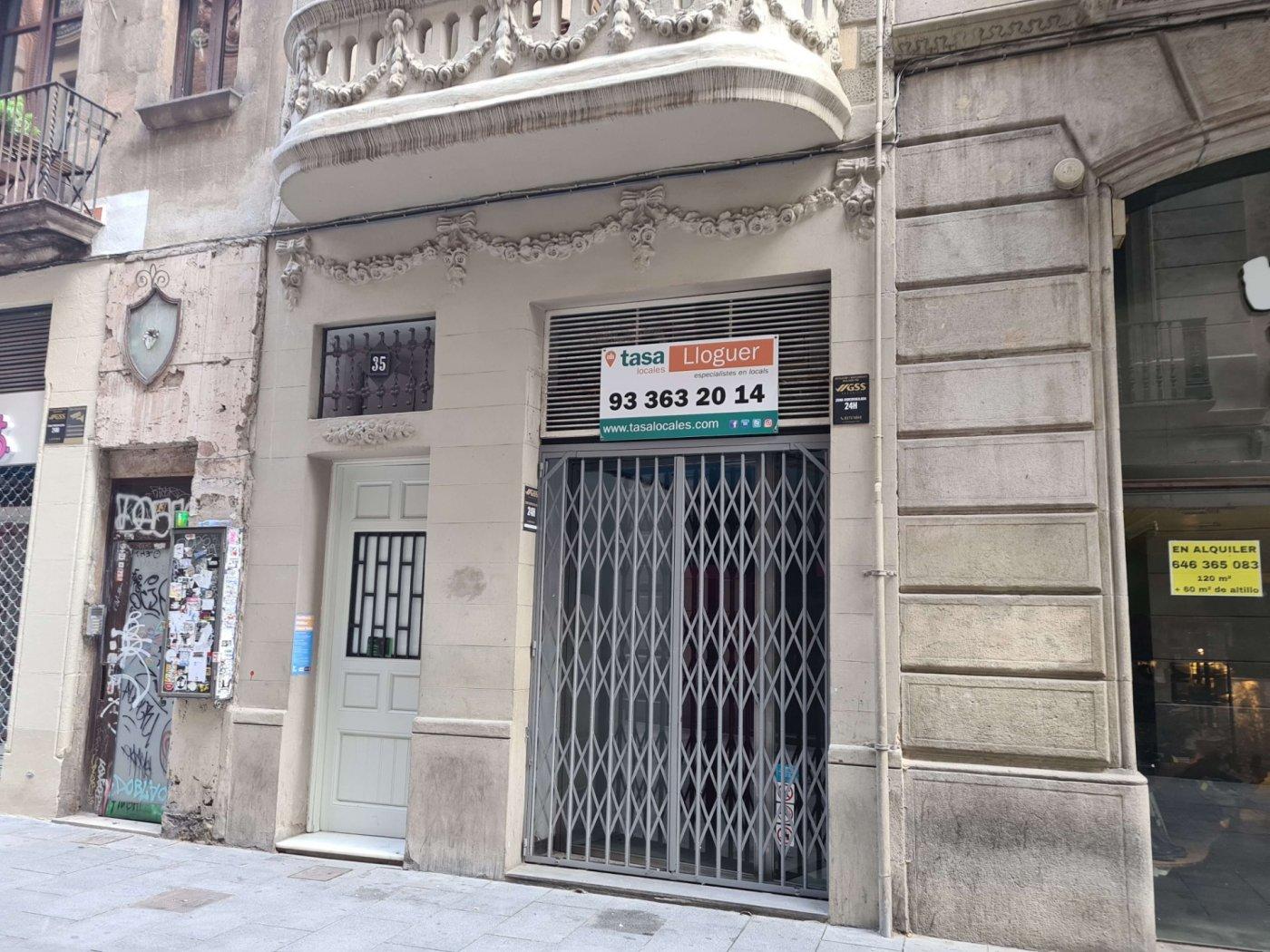 local-comercial en barcelona · el-gotic 2990€