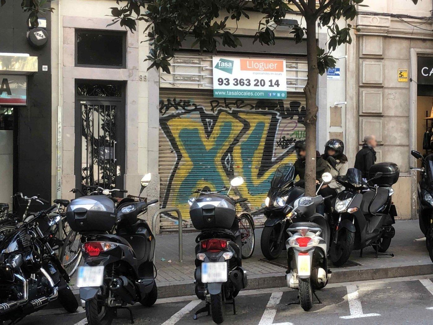 local-comercial en barcelona · vila-de-gracia 4500€
